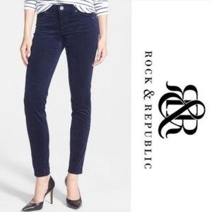 Rock & Republic Berlin Skinny Corduroy Pants